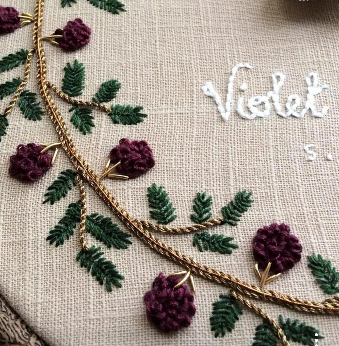 how to do french knots embroidery #Frenchknots - # ...