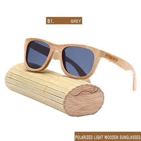 6d5b12ab466 Wooden Sunglasses Handmade Polarized With Gift Box