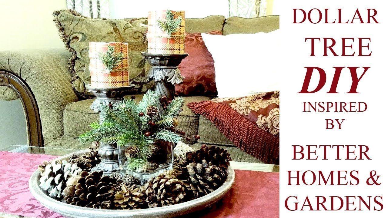 Diy dollar tree christmas decor ideas better homes u gardens