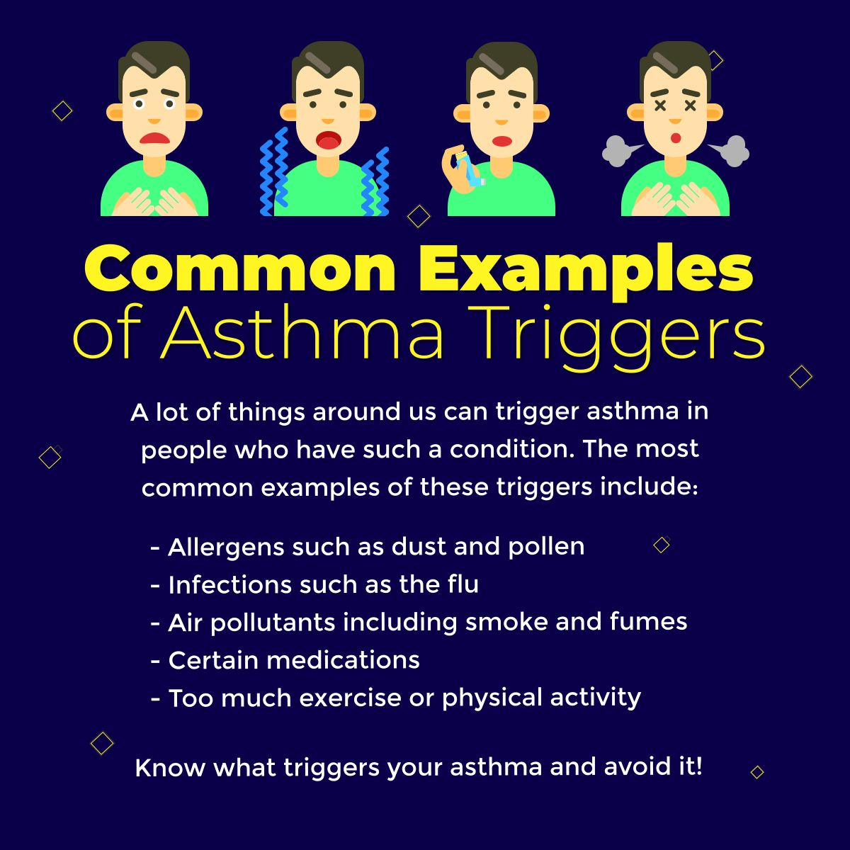Common Examples of Asthma Triggers AsthmaTriggers