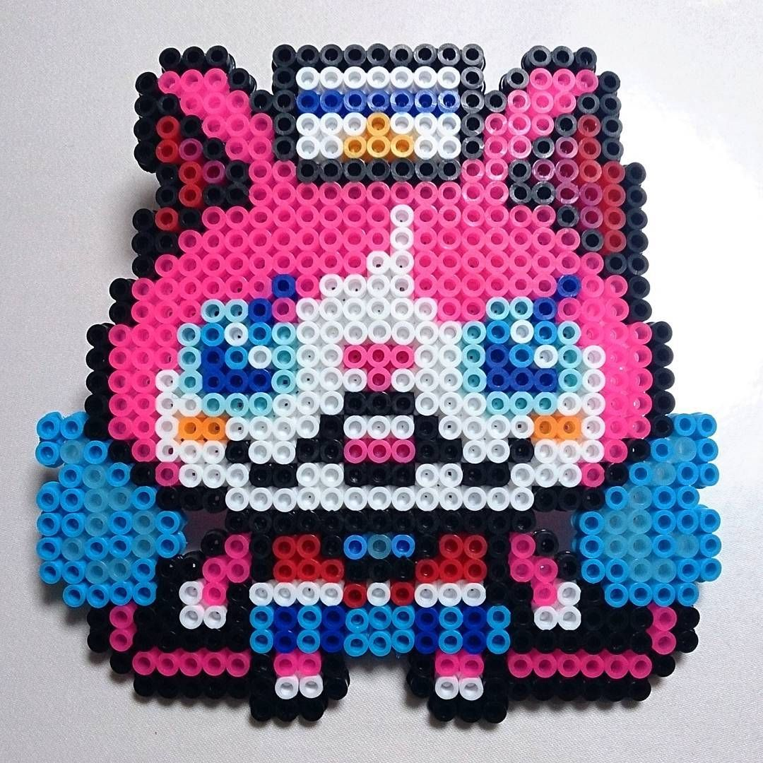Yo Kai Watch Perler Beads By Rensucculents Yokai Watch