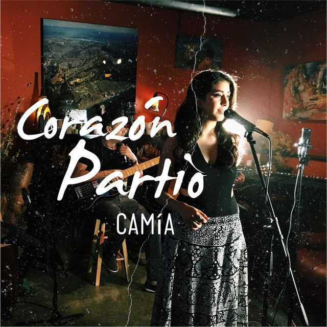 """""""Corazon Partio"""" by Camía was added to my Descubrimiento semanal playlist on Spotify"""