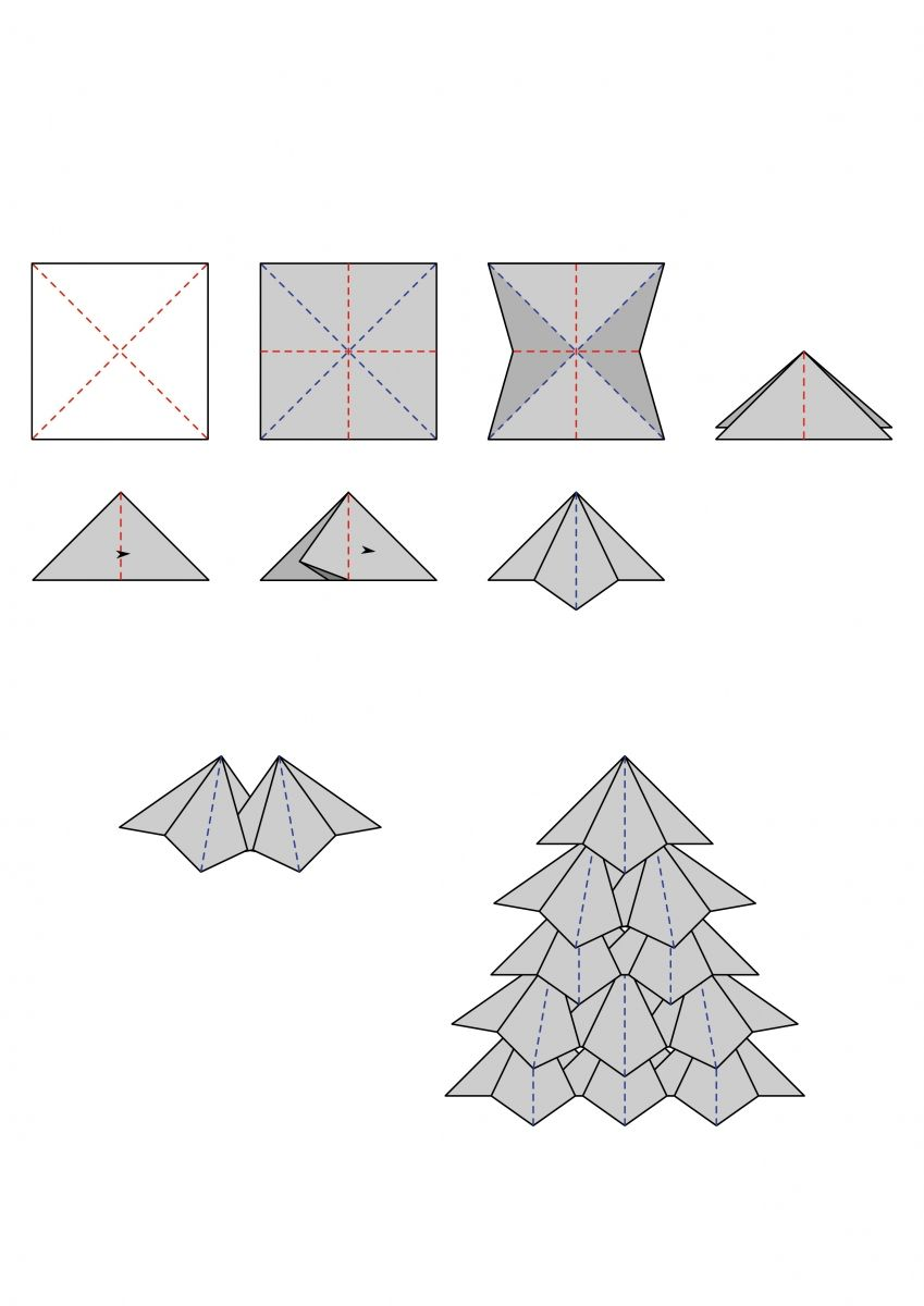 Superb Christmas Tree Teabag Folding Teabag Folding Christmas Wiring 101 Mecadwellnesstrialsorg