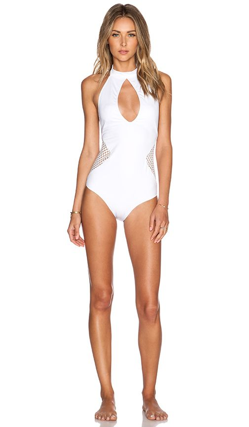 cac82703603 Lisa Maree Plans For the Future Swimsuit in White | REVOLVE | She ...