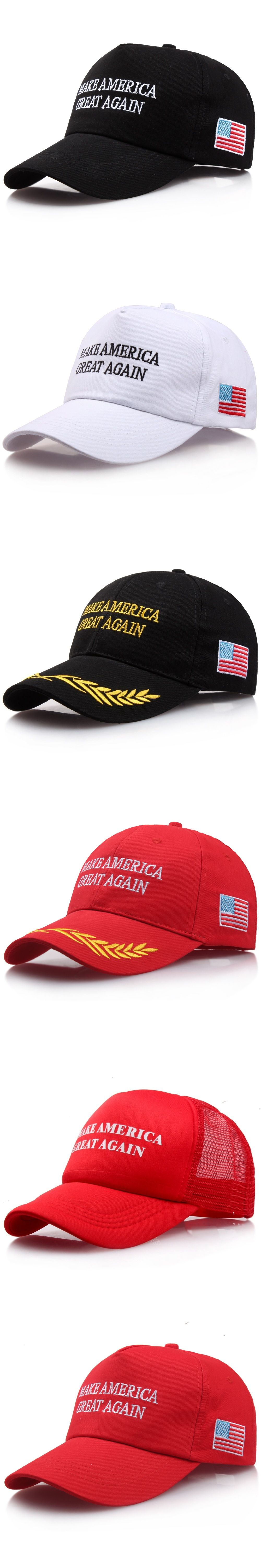 37e988cd4af Make America Great Again Baseball Cap Swag Donald Trump Speech Hats For Men  Casual Snapback Hat