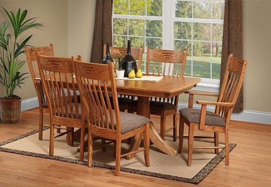Oak Dining Room Set How To Go Traditional Elegantly Oak Dining Room Oak Dining Room Set Dining Suites