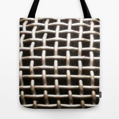 Mic Up Tote Bag by TheseRmyDesigns - $22.00