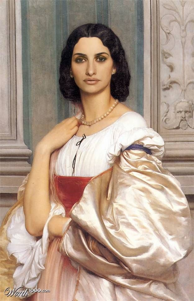 17.) Penelope Cruz  http://www.icetrend.com/by-adding-famous-faces-to-classic-paintings-you-get-some-epic-art/?utm_source=feedburner&utm_medium=email&utm_campaign=Feed%3A+IceTrend+%28Ice+Trend%29