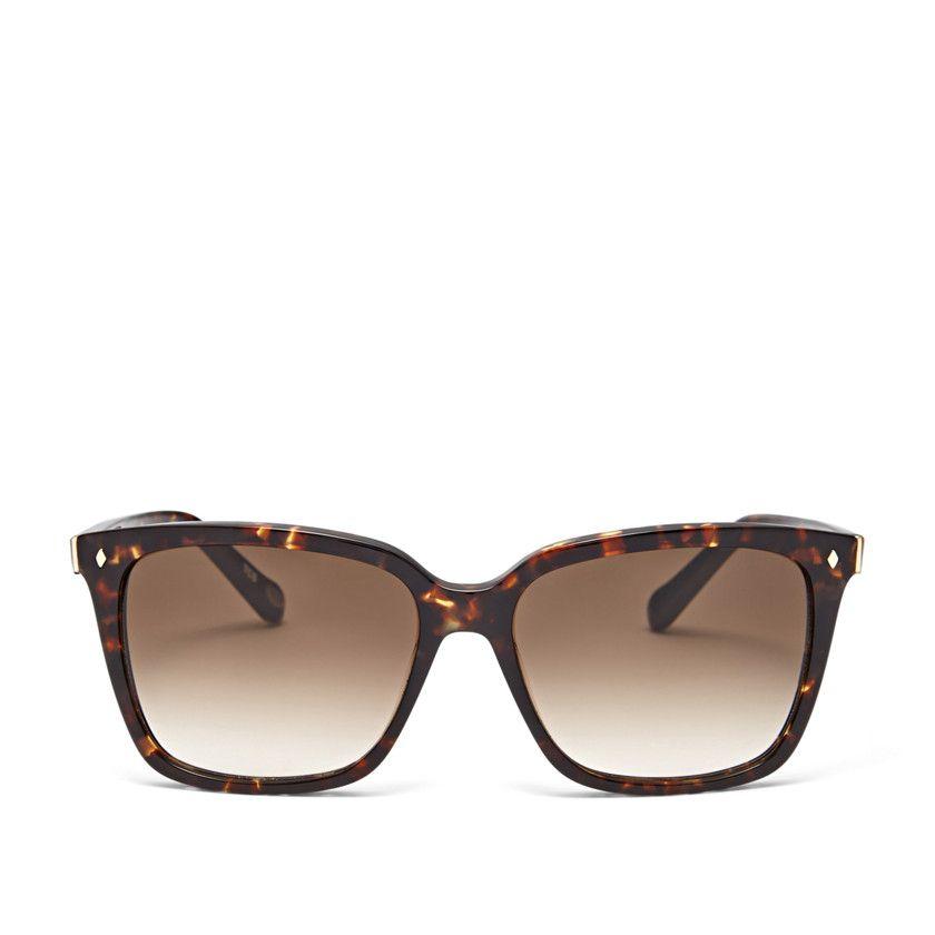 Fossil Abernathy Square Sunglasses, FOS1006S0FR5| FOSSIL® Sunglasses