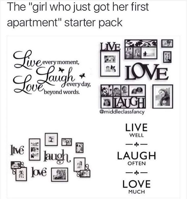 S First Apartment Starter Pack