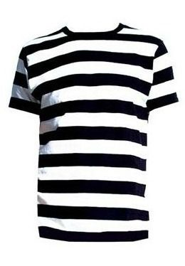 Black and White Striped Men's T-Shirt | Work Clothes? | Pinterest ...