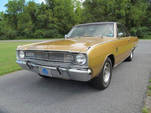 1967 Dodge Dart Gts 383 S Match Radio Delete Galen Doc Dodge