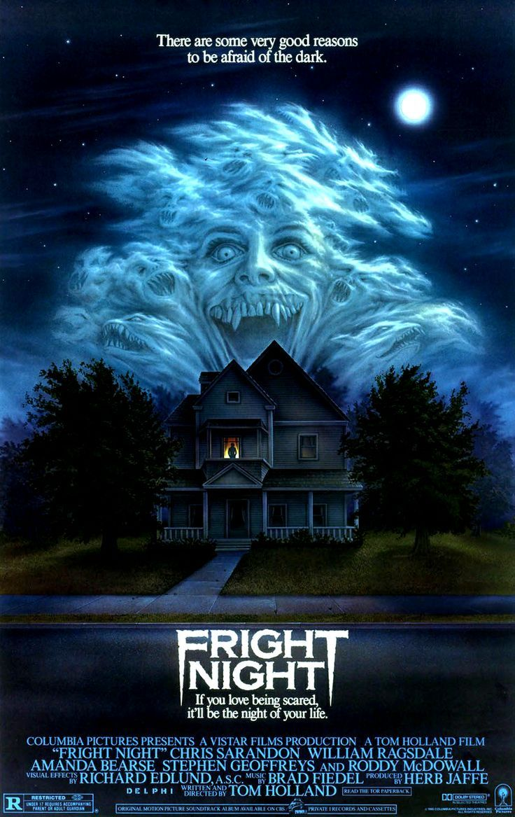 top 10 horror movie posters of the 80s fright night dvd horror deals - Top 10 Scary Halloween Movies