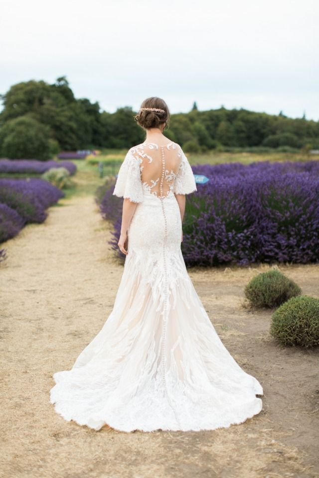 illusion back Anny Lin Bridal gown | Wedding Dresses | Pinterest ...
