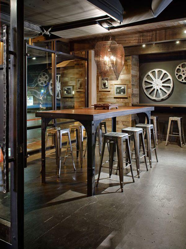 Very Industrial Yet Cozy Coffee Shop Interior Design Cafe