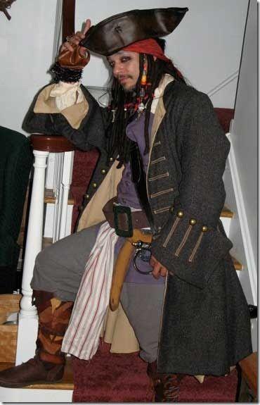 Cómo hacer el sombrero del Capitán Jack Sparrow  a10de18c9eb
