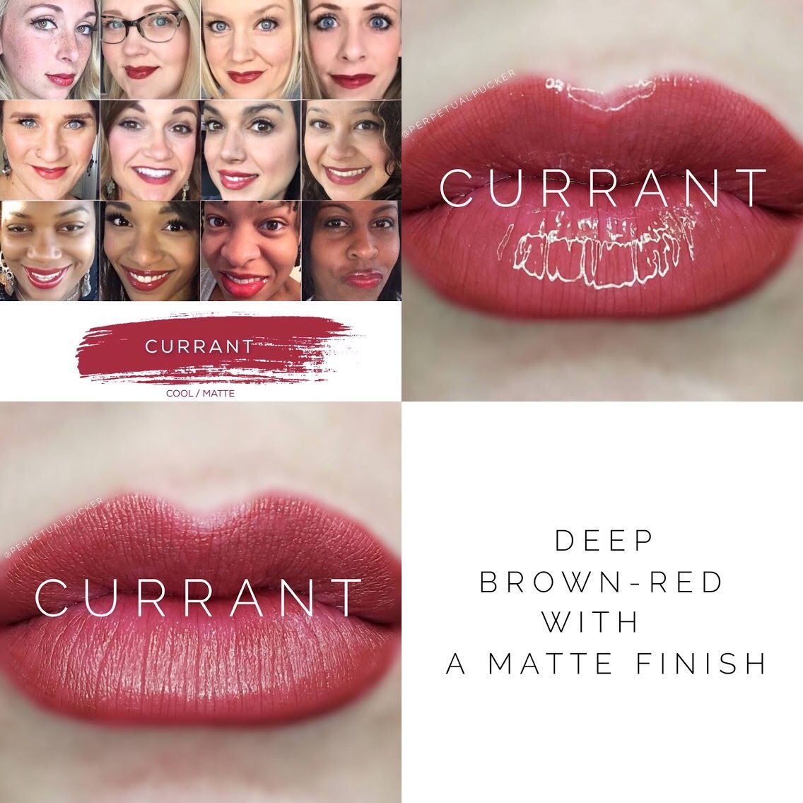 """Currant LipSense For more info: Follow me on Instagram: @northwestlipservice   Email for orders: jennifer.teitzel@yahoo.com Distributor ID: 235141  Find """"Northwest Lip Service"""" on Facebook. Smudge Proof, Water proof, Kiss Proof, Gluten Free, Anti-Aging, and Vegan friendly!!!"""