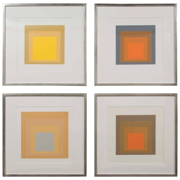 Josef albers homage to the square from formations