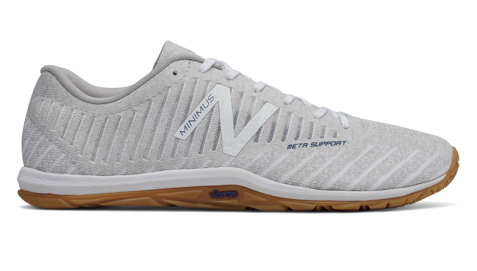 New Balance Minimus 20v7 Trainer, Nimbus Cloud with White Munsell ...