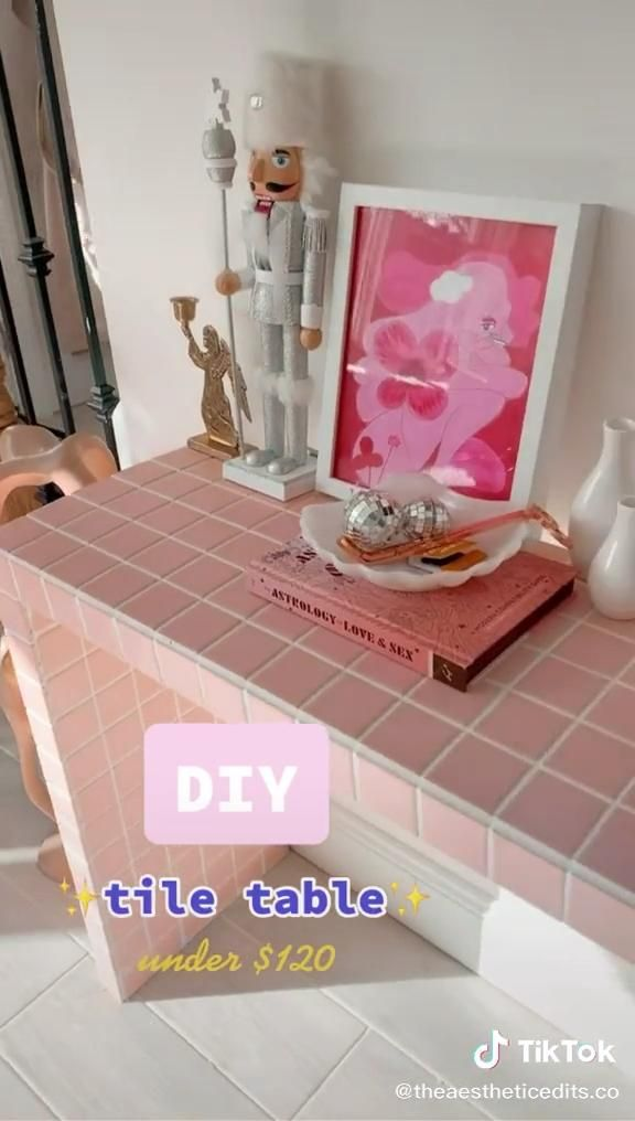 DIY tile table under $120