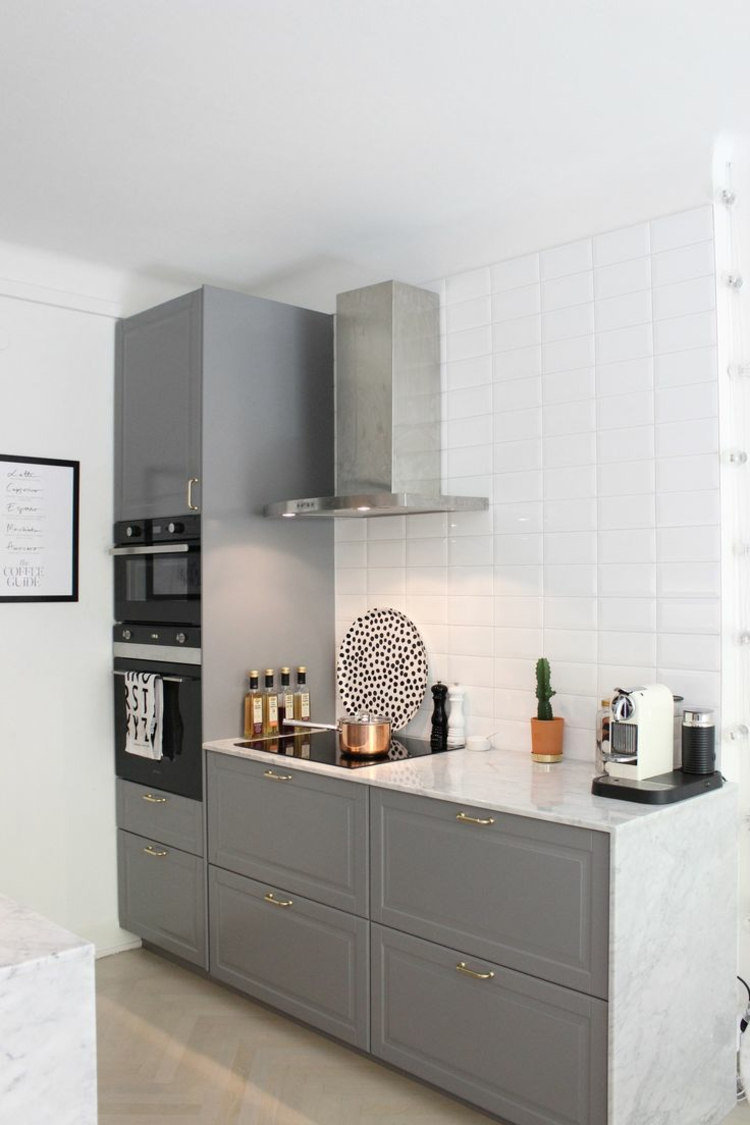 Kleine Küche clever einrichten – Varianten & Tipps für ...