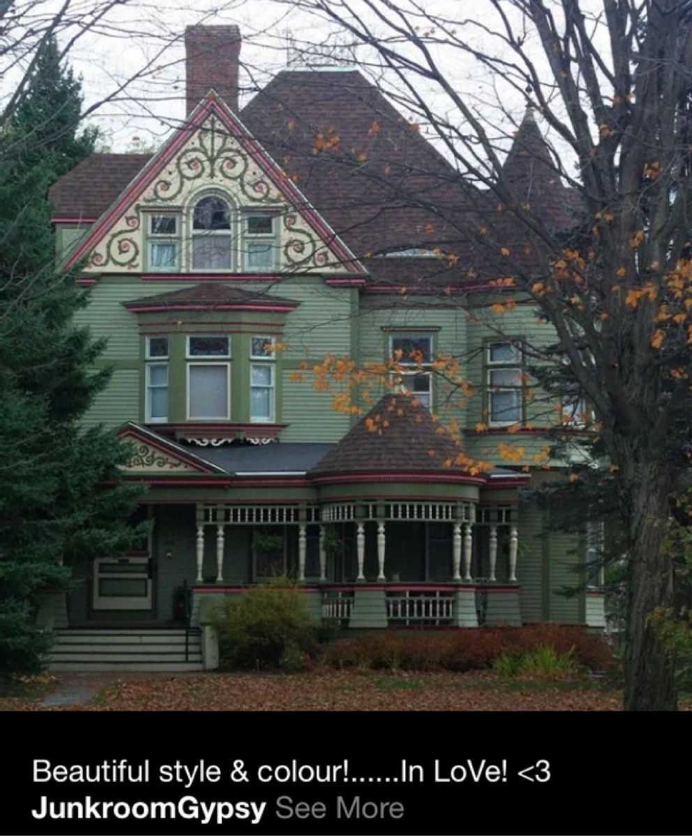 Pinned from Pin It for iPhone Victorian homes Victorian