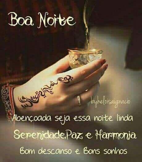 Boa Noite Pessoas Harmonia Luz Paz Amor Com