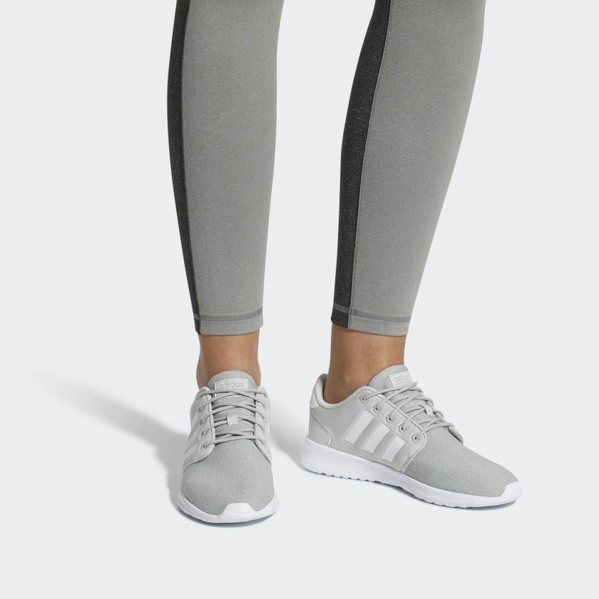 adidas Cloudfoam QT Racer Shoes - Grey