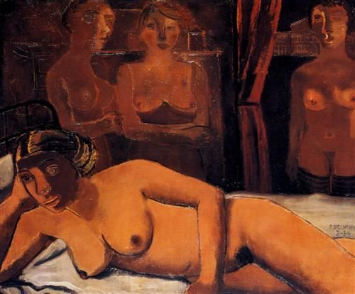 The Lady Rose - Paul Delvaux