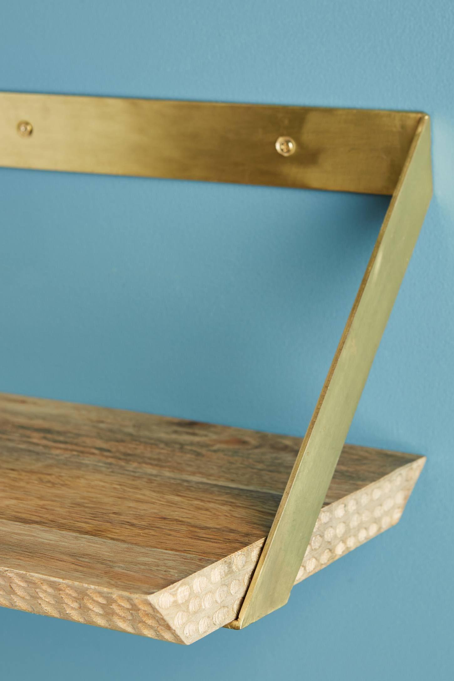 Beveled Wood Shelf   Bathroom Decor   Pinterest   Wood shelf ...