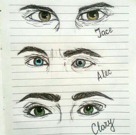Olhos.