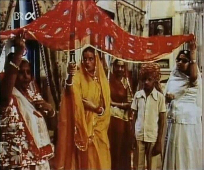 Uschi Obermaier Bei Ihrer Hochzeit Mit Dieter Bockhorn In Indien
