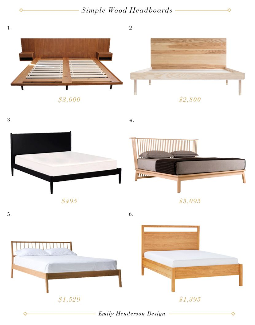 The 32 Beds That I Almost Bought For My Bedroom Emily Henderson Bedroom Furniture Design Wooden Bedroom Furniture Furniture