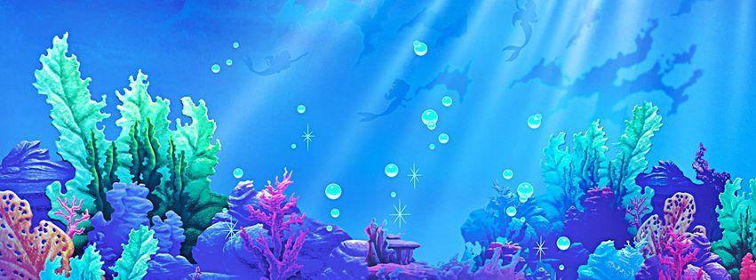 Princess Ariel Disney Facebook Cover Facebook Cover Photos