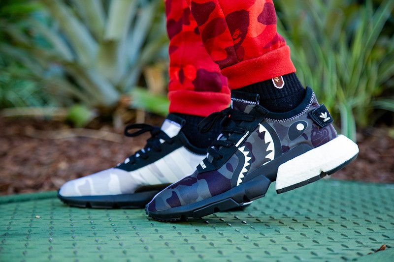eb5ae5f5696fe An On-Foot Look at the BAPE x NEIGHBORHOOD x adidas POD-S3.1 ...
