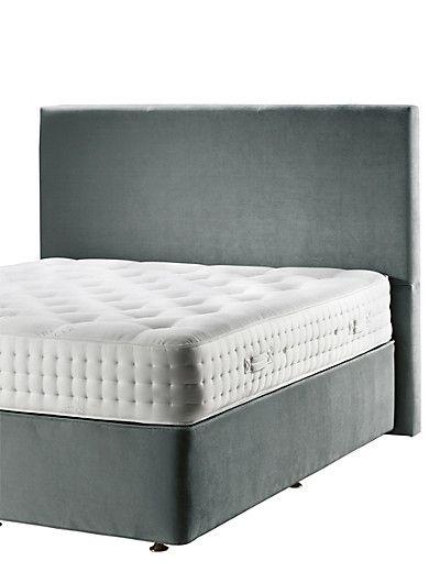 Charcoal Velvet Headboard Furniture With Images Velvet