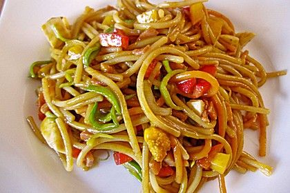 Photo of Asian Pasta Salad by camouflage165 | Chef