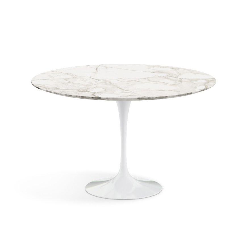 Saarinen dining table 47 round knoll saarinen