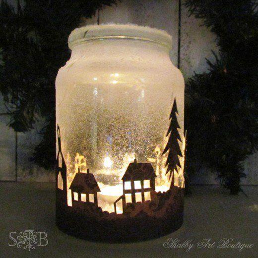94 Outstanding Craft Projects Using Glass Jars Christmas Jars Mason Jar Christmas Crafts Christmas Mason Jars