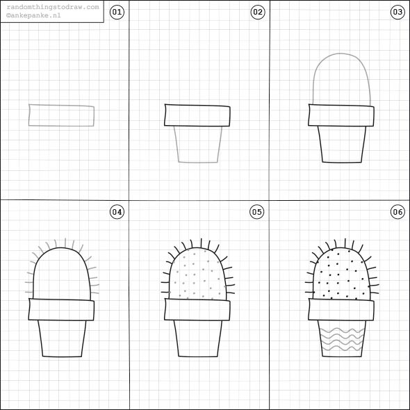 Learn how to draw fun things with easy instructions, also ...