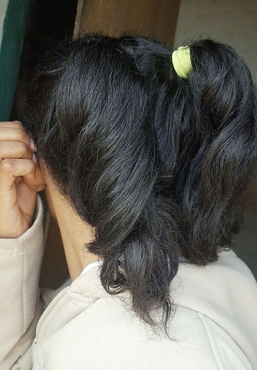 Two Ponytails Hairstyle Double Ponytail Pigtails Hair Hairstyle Style Ponytail Tie Tied Pigtails تسريحة شعر ذيل الحصان تسر Pigtails Easy Sewing Hair