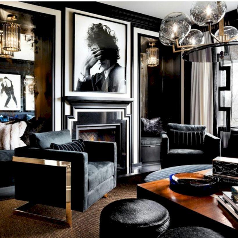 100 Bachelor Pad Living Room Ideas For Men: Nice 54 Men's Bachelor Pad Decor Ideas For A Modern Look