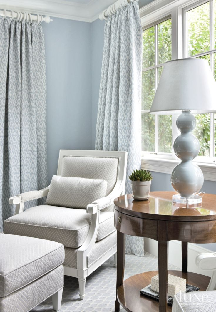 Best Traditional Pale Blue Bedroom Seating Area Bedroom Seating Area Bedroom Seating Traditional 400 x 300