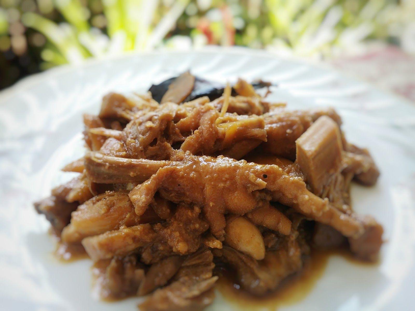 Resep Gudeg Nangka Ceker Ayam Resep Resep Masakan Indonesia Resep Masakan