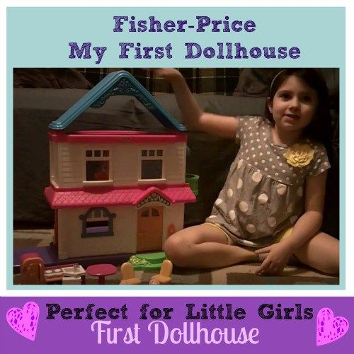 Fisher-Price My First Dollhouse - A Great Choice for Years of Fun!