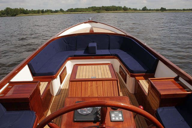 Moonday Golden Horn 23ft canal boat  Turkish built, styled