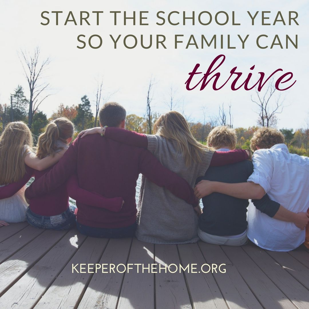 Here are some tips to start the school year so your family can thrive, battling the back-to-school chaos and stress together.