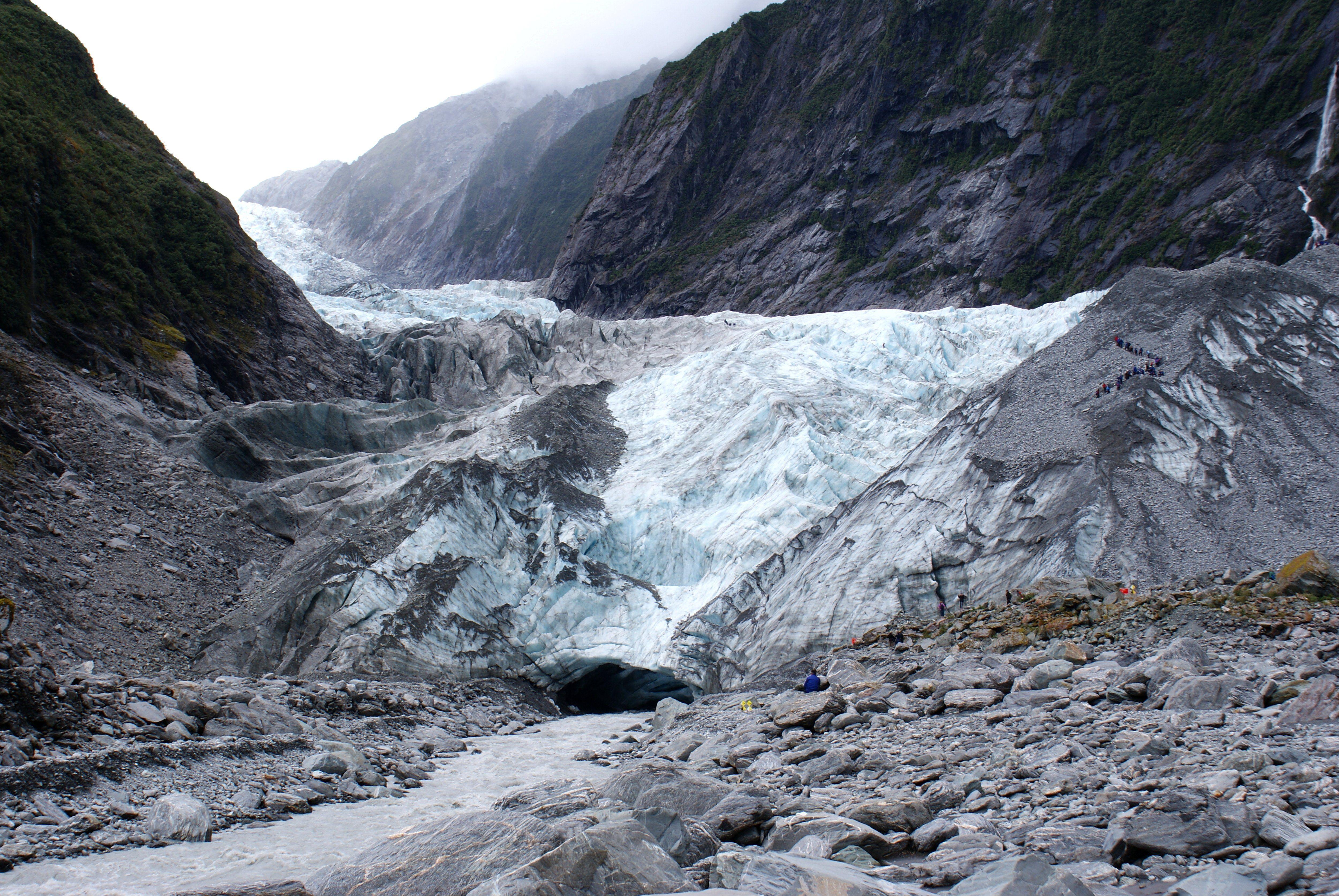 Glacial Meltwater Stream   Franz Josef Glacier - New ...