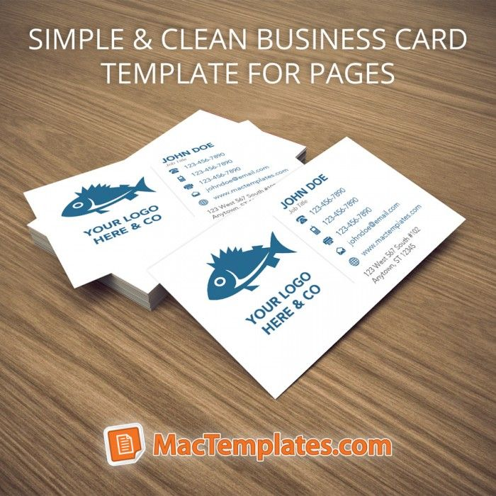 Clean Business Cards Template Mactemplates Com Cleaning Business Cards Illustration Business Cards Business Card Template