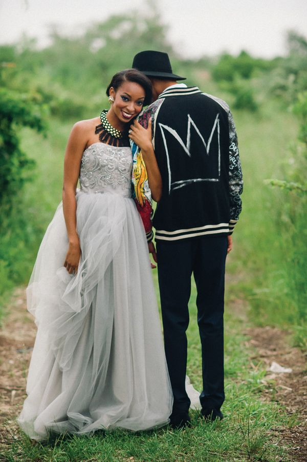 Wedding Ideas Inspired by Basquiat Munaluchi Bridal Magazine